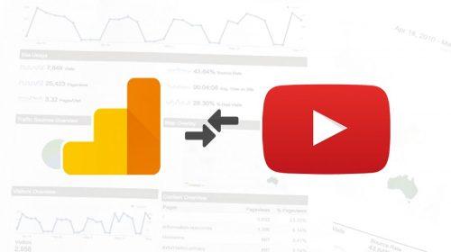 YouTube и Google Analytics